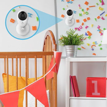 Ezviz - Mini O Plus 1080P indoor Wi-Fi Camera