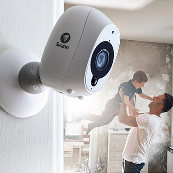 2MP Swann - Wire-Free Smart Security Camera
