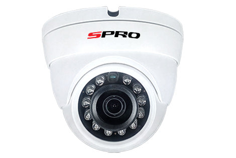 2MP 3.6mm Fixed Lens HD-CVI CCTV Cameras with IR LED's for night vision