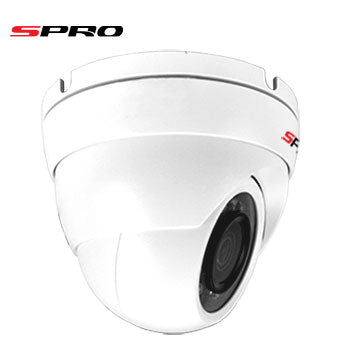 2MP HD CCTV 4in1 White Dome Camera