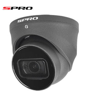 4K 8MP Dome Grey 2.8mm Lens with IR for night vision
