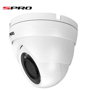 SPRO 4K 8MP ANALOGUE CVI DOME CAMERA WITH 30M IR