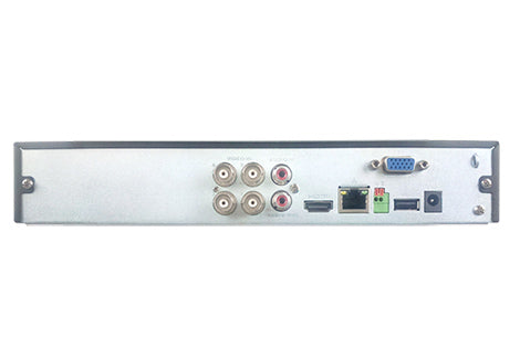 SPRO 6 Channel Full HD 1080P 5 IN 1 DVR (CCTV Recorder) - Rear View