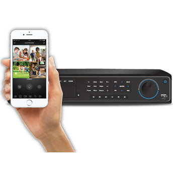 SPRO Eight - 32 CHANNEL 1080P HD CCTV DVR - viewable from most mobile devices