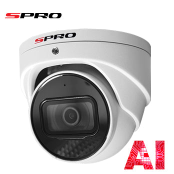 5MP IP SPRO - Fixed Lens CCTV Camera With SMD, Mic, 50m IR And STARLIGHT