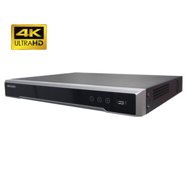 4K 8MP HIKVISION 4 channel IP NVR