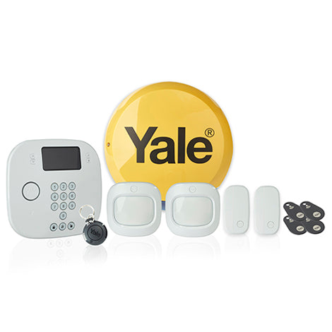 Yale - Intruder Alert Alarm Kit Plus - Pet Friendly