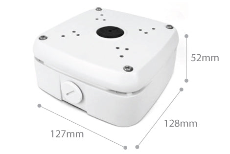 Dimension of SPRO CCTV Junction Box 01 White
