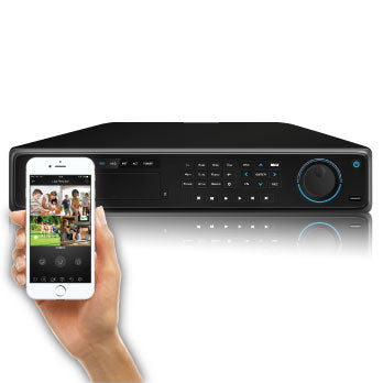 4K (8MP) SPRO IP - 32 channel IP NVR - viewable from most mobile devices