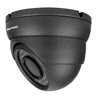 2MP 4in1 Grey Dome Camera fixed 3.6mm Lens with 30M nightvision
