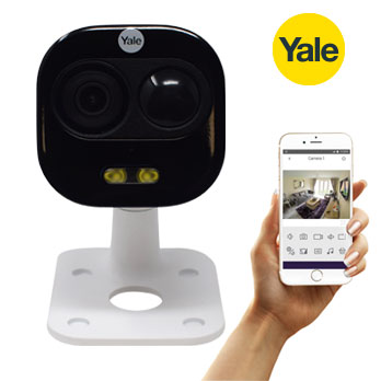 Yale HD 1080P Wifi Outdoor Camera - front view