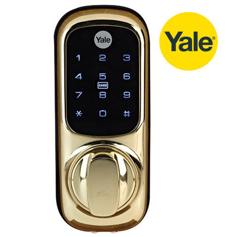 Yale - Keyless Connected Smart Lock (Polished Brass)