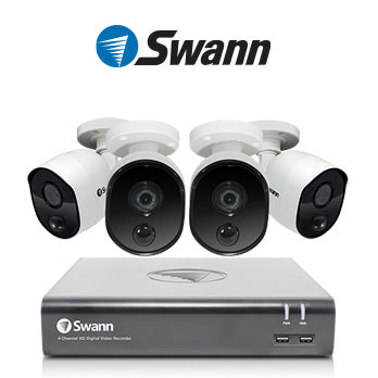1080P Swann CCTV Kit / 4 Channel with  4XHD Cameras