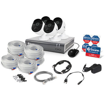 1080P Swann CCTV Kit / 8 Channel with 4XHD Cameras
