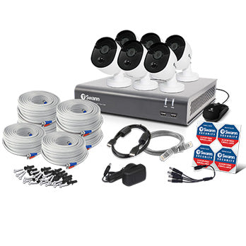 8 Channel 1080p Full HD DVR Security System