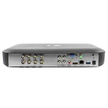 8 Channel 4K DVR Security System - Rear