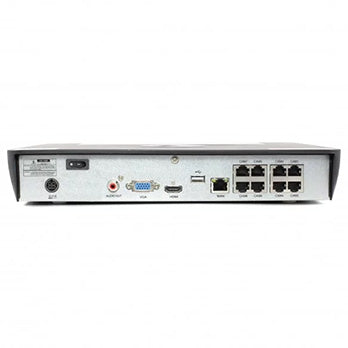 8 Channel 4K NVR Security System - REAR