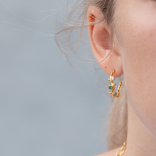Miss Lily Hoops • guld