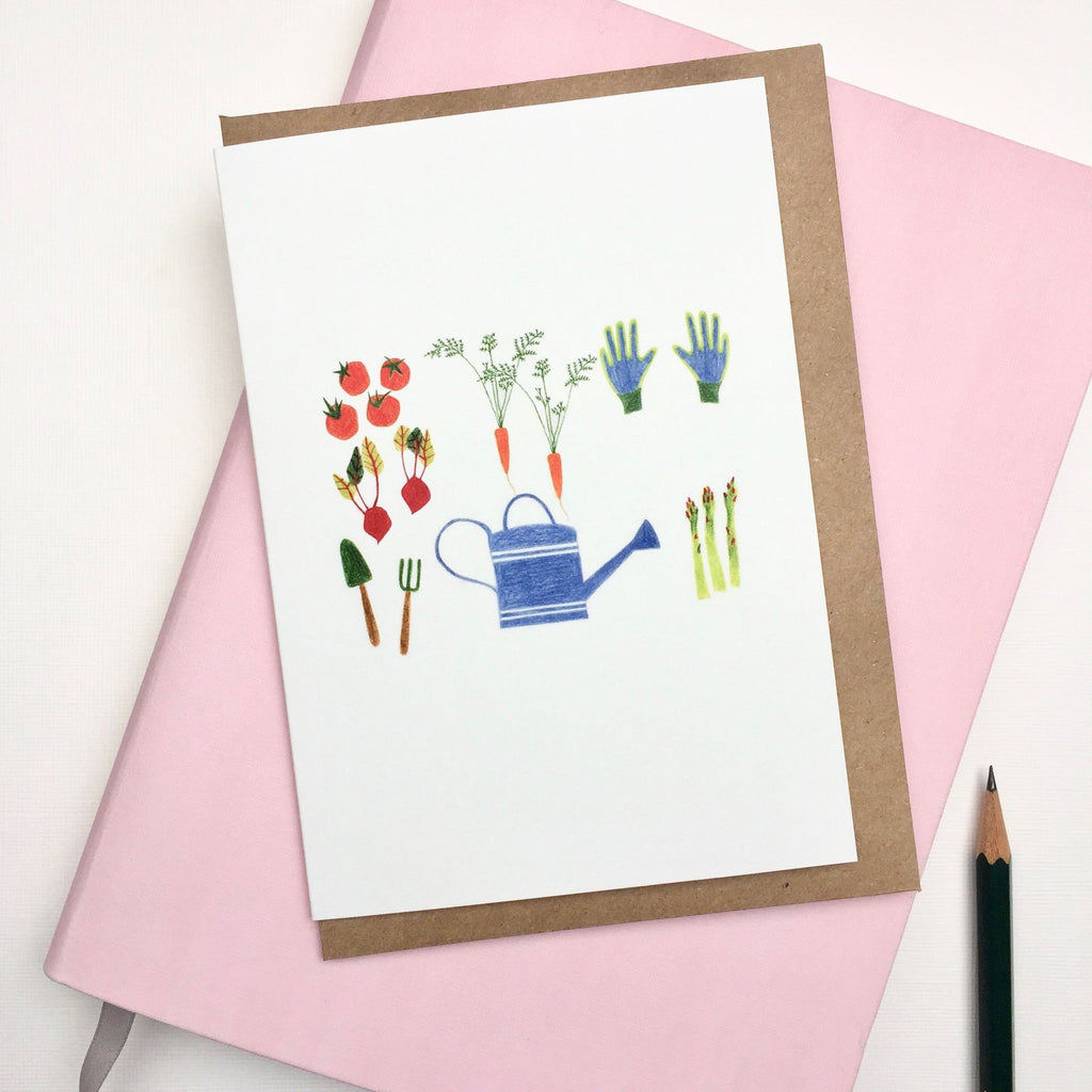 Greeting Card • gardening
