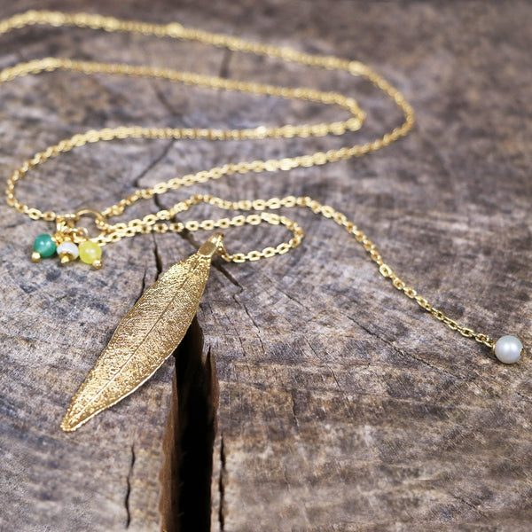 ANDIRA necklace / gold
