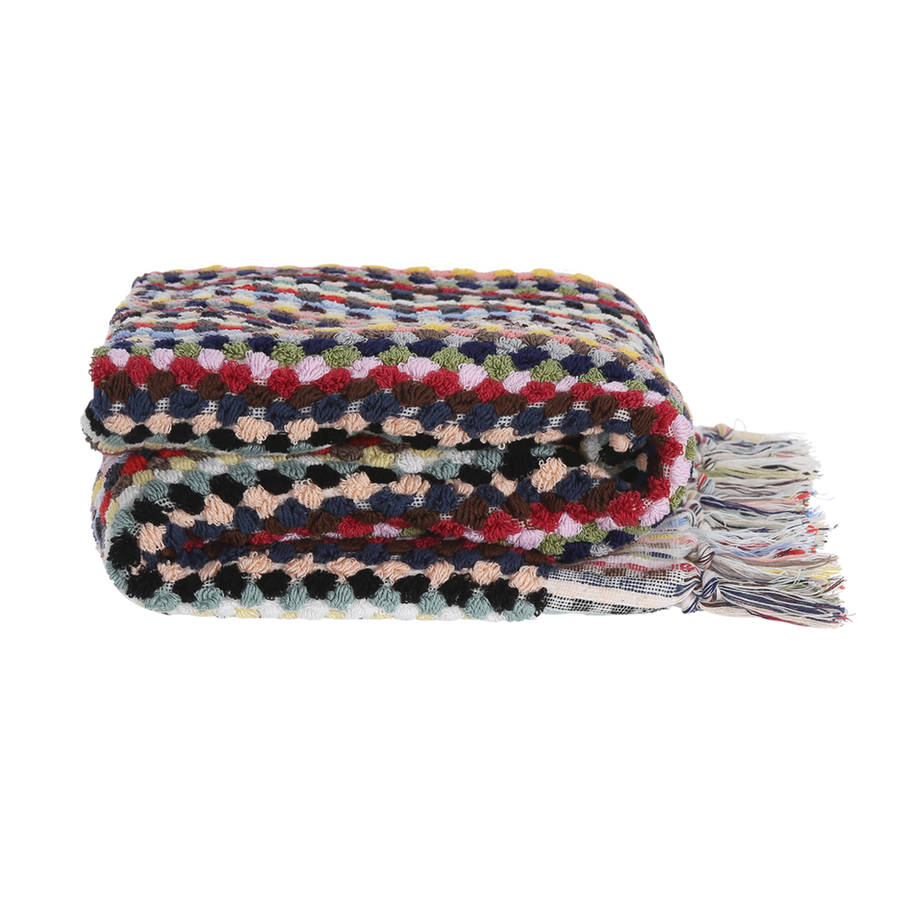 Ahududu / bath towel - multi