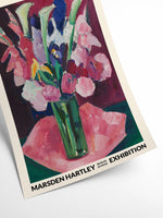 Blomsterbuket  •  Marsden Hartley