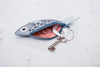 Blue bream - purse • key chain