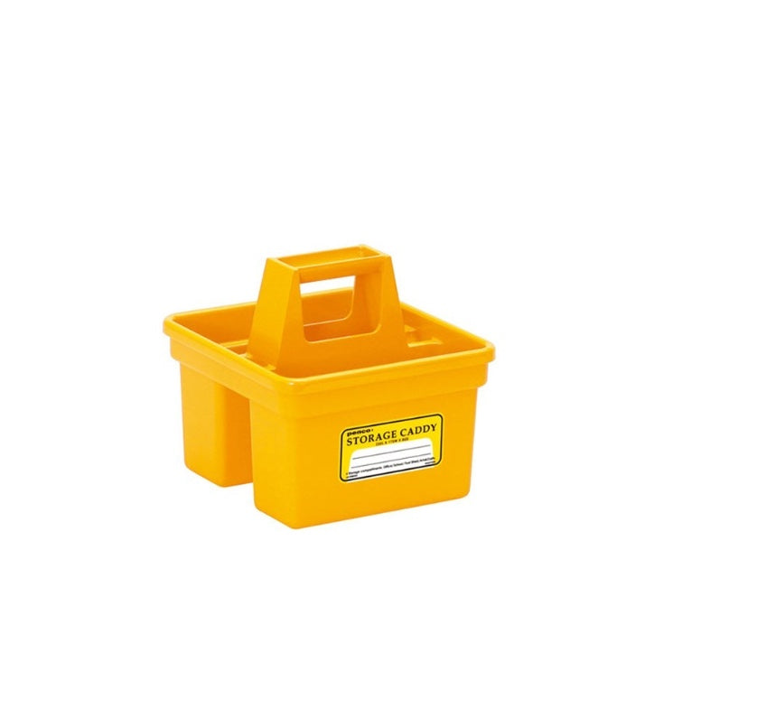 Storage Mini Caddy, Yellow
