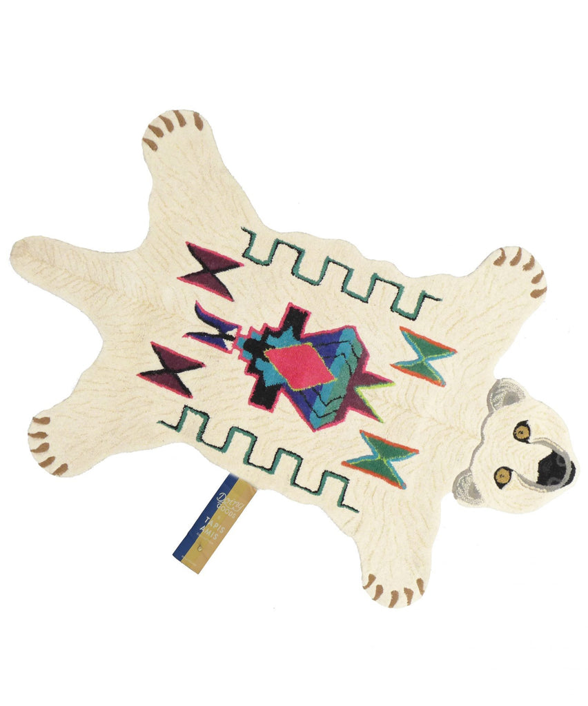 Kasbah Polar Bear rug • large