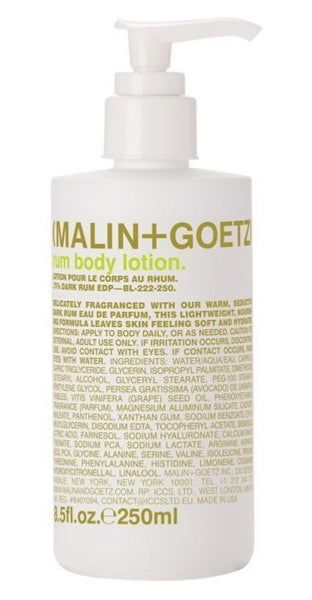 rum body lotion - 250 ml.