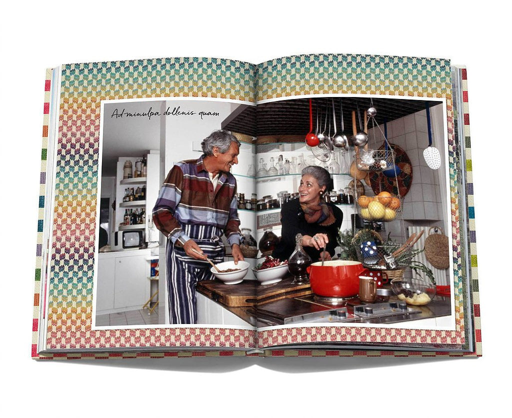 Missoni Family Cookbook - book