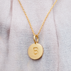 Necklace: Close-To-My-Heart, anchor chain, gold plated silver