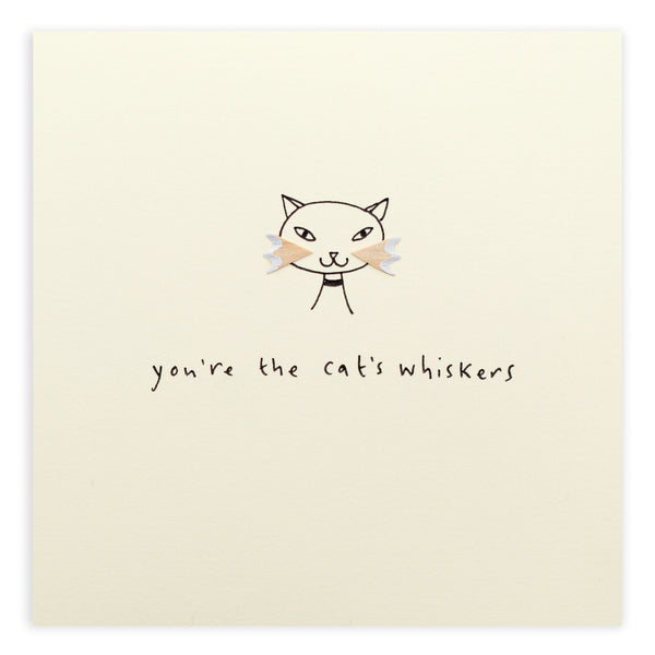 Pencil Shavings Card • Cat's Whiskers