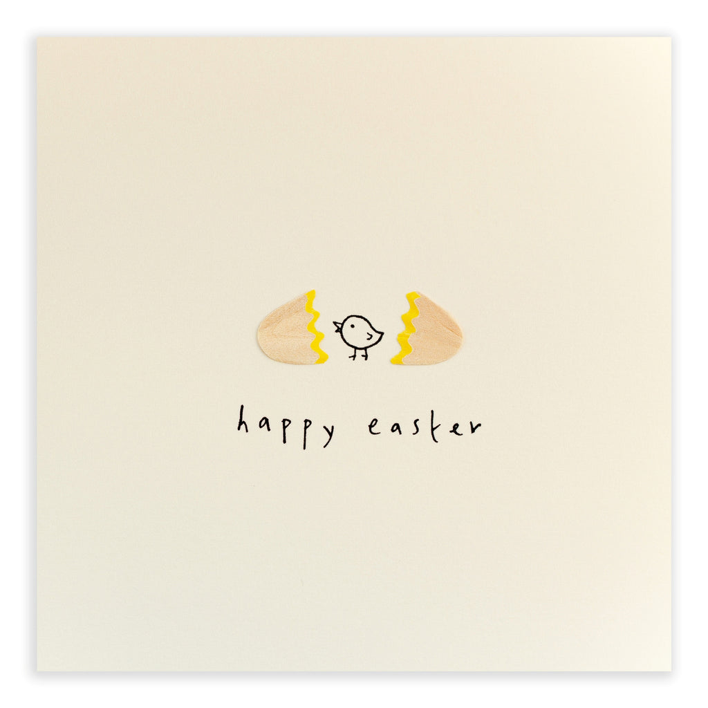 Pencil Shavings Card, Easter EEG