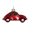 red Volkswagen •  glass ornament