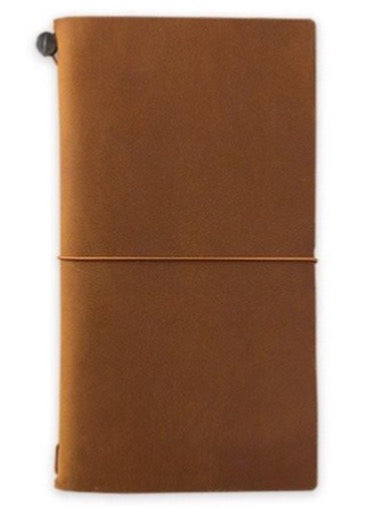 TRAVELER'S notebook, camel