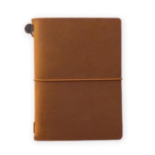 TRAVELER'S notebook passport size, camel