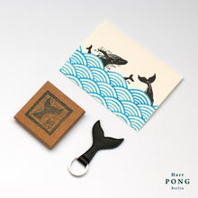 The Whale Tail - key ring