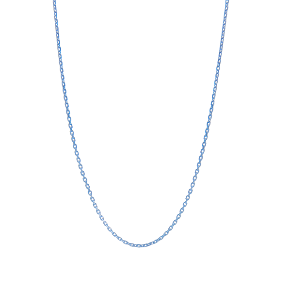 Necklace: Close-To-My-Heart, anchor chain, silver