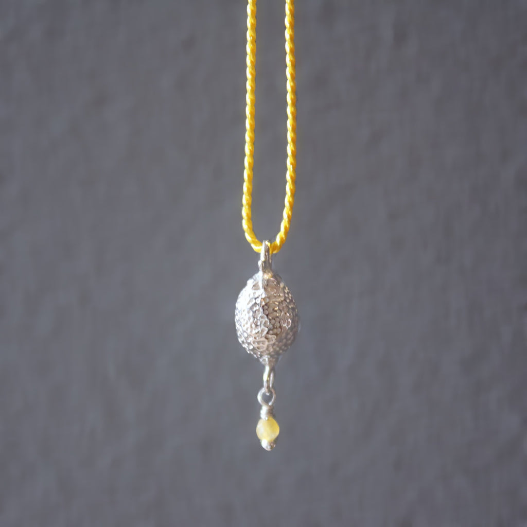 Lemon necklace / SILVER