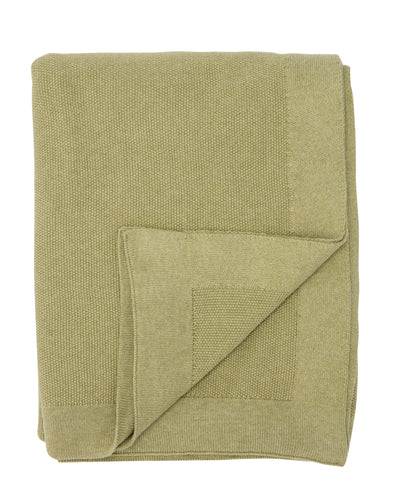 SeedStitch bedspread, light green - two sizes available