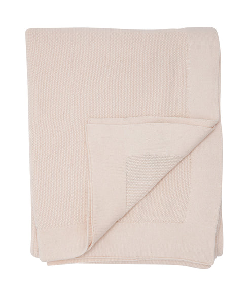 SeedStitch bedspread, nude - two sizes available