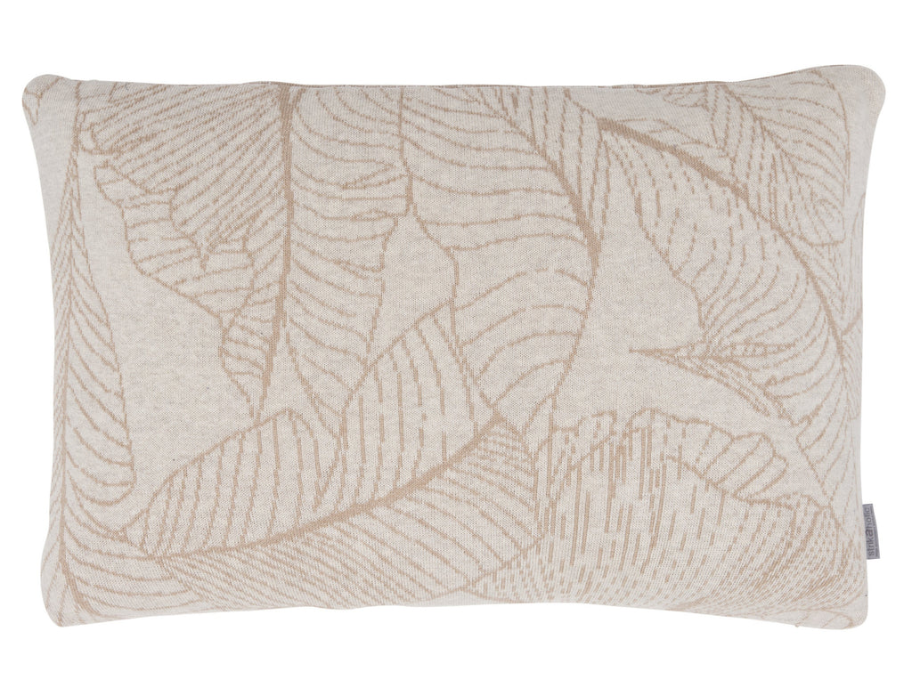 Leaf cushion, sand