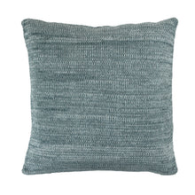 Tactile Stripes cushion, dark green