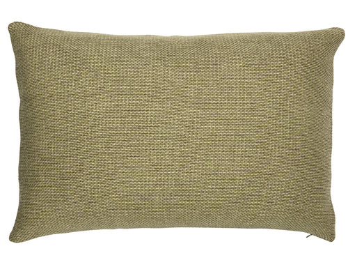 Beads cushion, moss green - two sizes available
