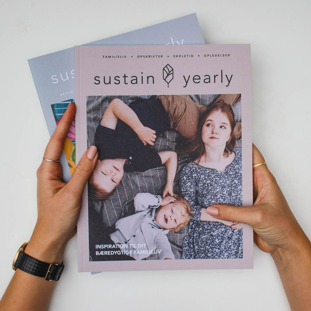 Sustain Yearly - family magazine