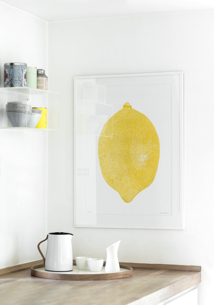 YELLOW LEMON - A4