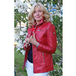 Mia Lu Lederjacke Damen Bettie