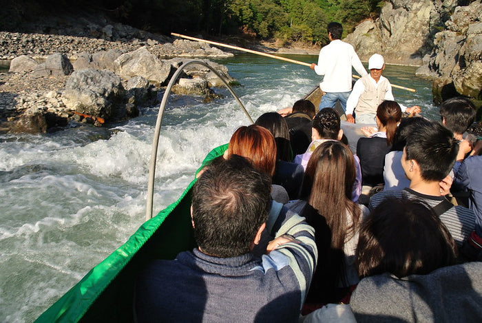 Hozu-gawa river rafting in Hozu-kyo Gorge [Chartered a boat] - 洛Concierge