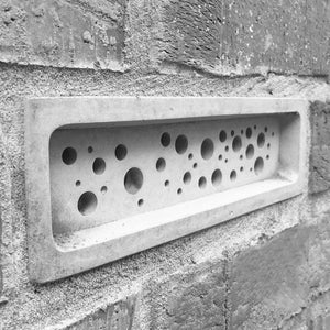 Concrete bee brick. Garden furniture. Made in the UK. Made in Cornwall